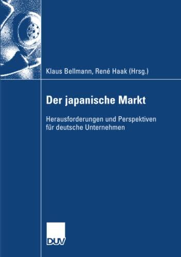 9783835007352: Der japanische Markt: Herausforderungen und Perspektiven für deutsche Unternehmen (German Edition)