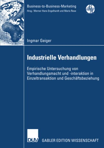 Industrielle Verhandlungen: Ingmar Geiger