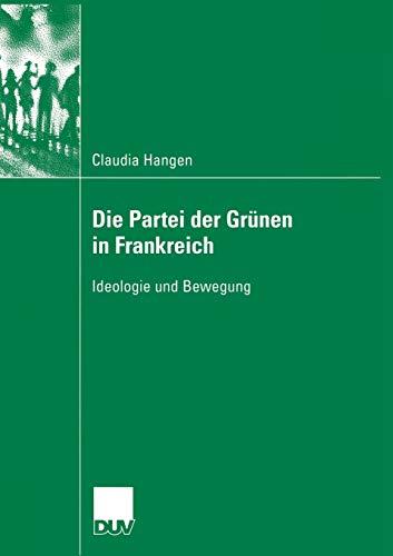 Die Partei der Grünen in Frankreich: Claudia Hangen