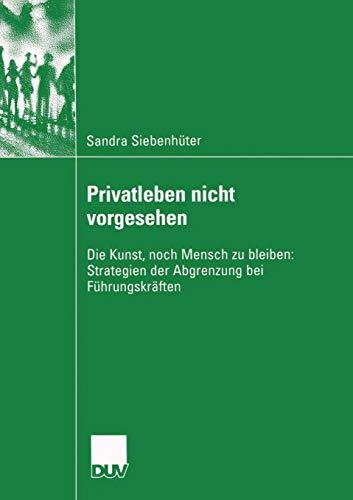 Privatleben nicht vorgesehen: Sandra Siebenhüter