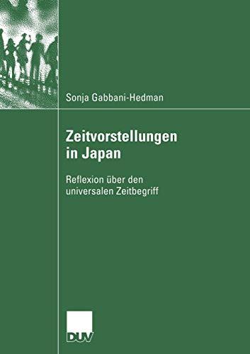 Zeitvorstellungen In Japan: Sonja Gabbani-Hedman