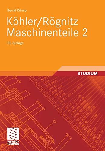 9783835100923: Köhler/Rögnitz Maschinenteile 2