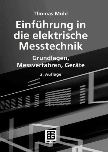 9783835100947: Einführung in die elektrische Messtechnik