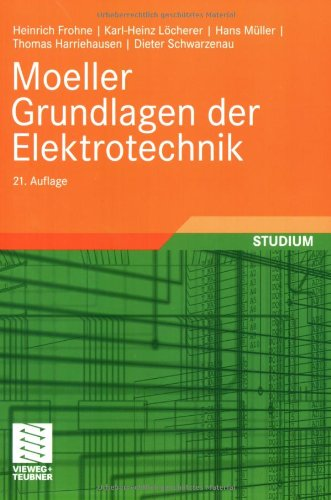 9783835101098: Moeller Grundlagen der Elektrotechnik