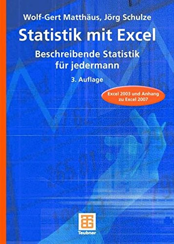 9783835101593: Statistik mit Excel