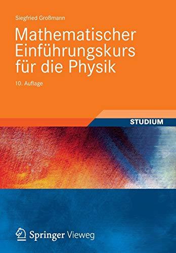 9783835102545: Mathematischer Einführungskurs für die Physik