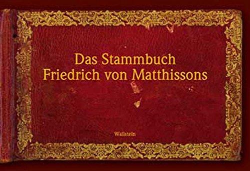 Das Stammbuch Friedrich von Matthissons: Erich Wege
