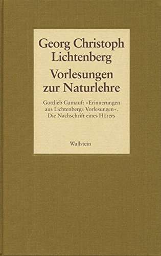 Gesammelte Schriften 02: Georg Christoph Lichtenberg