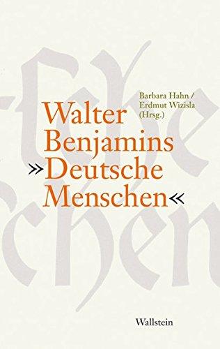 9783835302310: Walter Benjamins