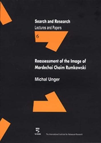 9783835302938: Reassessment of the Image of Mordechai Chaim Rumkowski