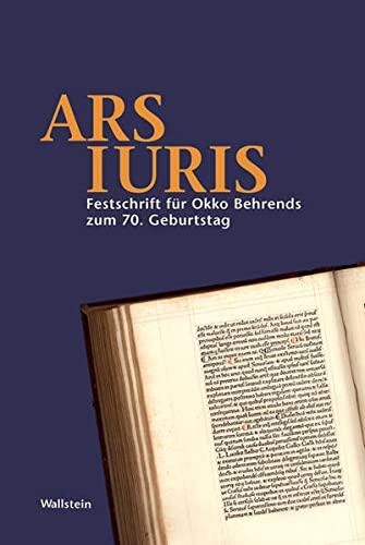 Ars Iuris: Martin Avenarius