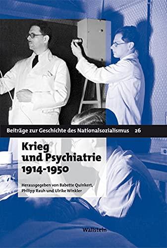9783835305762: Krieg und Psychiatrie 1914-1950
