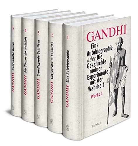 9783835306516: Ausgew�hlte Werke: Eine Autobiographie, Satyagraha in S�dafrika, Grundlegende Schriften, Die Stimme der Wahrheit, Ausgew�hlte Briefe