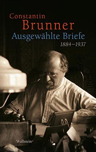 9783835310940: Ausgew�hlte Briefe 1884-1937