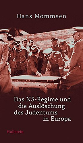 9783835313958: Das NS-Regime und die Auslöschung des Judentums in Europa
