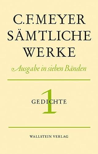 Sämtliche Werke. Ausgabe in sieben Bänden / Leseausgabe: Conrad Ferdinand Meyer