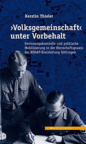 Volksgemeinschaft« unter Vorbehalt: Kerstin Thieler