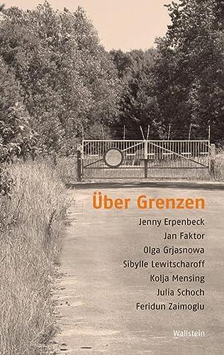 9783835317239: Über Grenzen: Texte und Lektüren der deutschsprachigen Gegenwartsliteratur