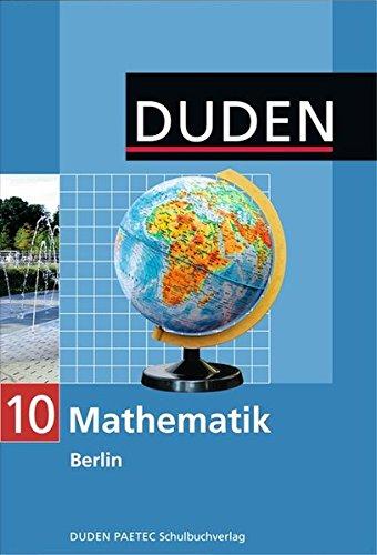 9783835510067: Mathematik 10 Lehrbuch Berlin