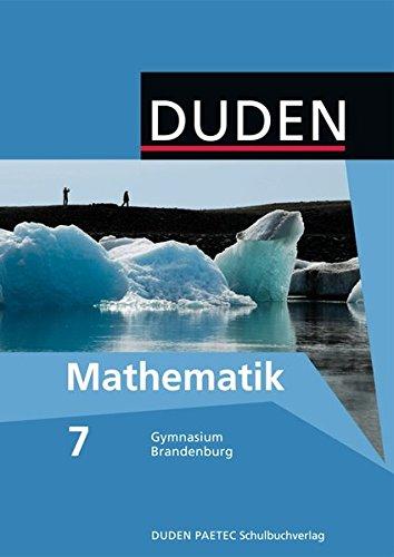 9783835510944: Mathematik 7 Lehrbuch. Brandenburg Gymnasium