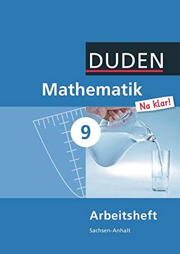 9783835511521: Mathematik Na klar! 9 Arbeitsheft Sachsen-Anhalt Sekundarschule