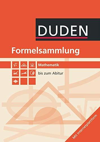 9783835511583: Mathematik Formelsammlung bis zum Abitur