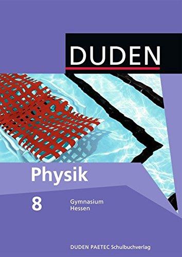 9783835530324: Physik 8 Lehrbuch. Hessen Gymnasium