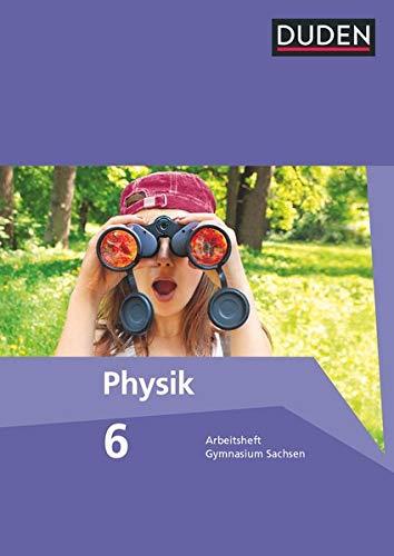 9783835532526: Duden Physik 6. Schuljahr. Arbeitsheft Gymnasium Sachsen
