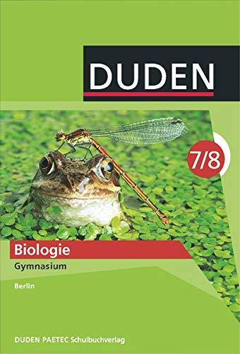 9783835540002: Biologie 7/8 Lehrbuch. Berlin Gymnasium: Duden
