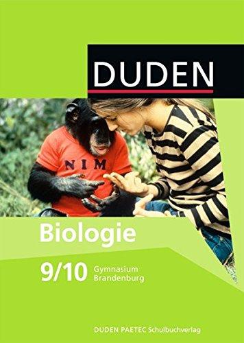 9783835540231: Biologie 9/10 Lehrbuch. Brandenburg Gymnasium