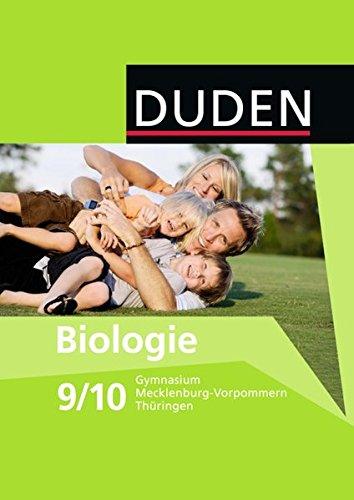 9783835540958: Biologie 9/10 Mecklenburg-Vorpommern Thüringen Gymnasium