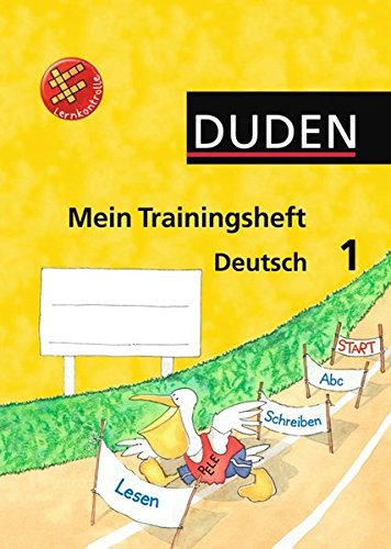 9783835580077: Duden Mein Trainingsheft Deutsch 1