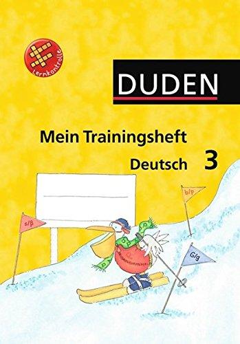 9783835580091: Duden Mein Trainingsheft Deutsch 3