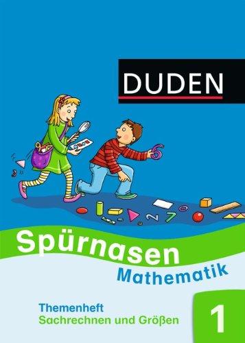9783835582248: Spürnasen Mathematik 1. Themenheft Sachrechnen und Größen 1. Allgemeine Ausgabe 2012