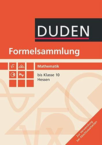 9783835590304: Formelsammlung Mathematik 7.-10. Schuljahr Hessen