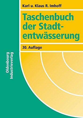 9783835630949: Taschenbuch der Stadtentw�sserung