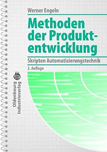 9783835632417: Methoden der Produktentwicklung: Skripten Automatisierungstechnik