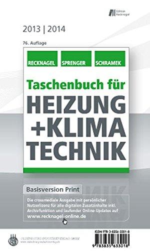 9783835633018: Taschenbuch für Heizung + Klimatechnik 13/14: Basisversion Print