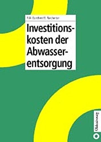 9783835665071: Investitionskosten der Abwasserentsorgung