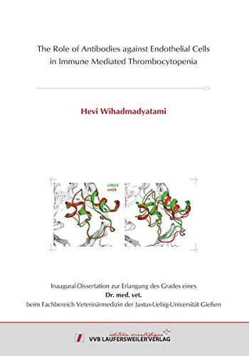 9783835964563: The Role of Antibodies against Endothelial Cells in Immune Mediated Thrombocytopenia (Edition Scientifique) [Sep 13. 2016] Hevi. Wihadmadyatami