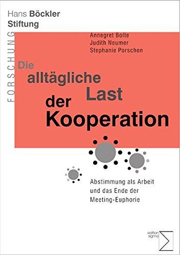 9783836086875: Die allt�gliche Last der Kooperation