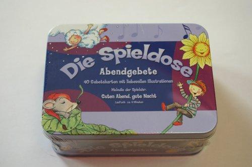 9783836110259: Die Spieldose. Abendgebete (40 Gebetskarten + Spieluhr) (Livre en allemand)
