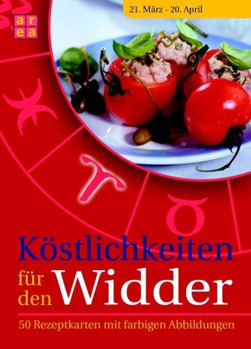 9783836112710: Köstlichkeiten für den Widder, 50 Rezeptkarten