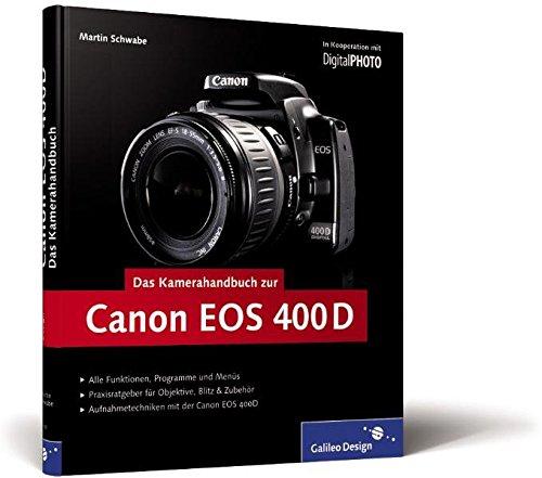 9783836210003: Das Kamerahandbuch Canon EOS 400D