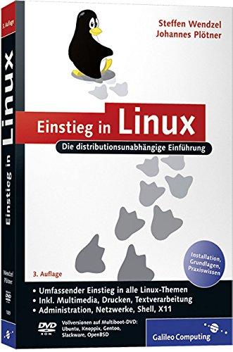 9783836210898: Einstieg in Linux: Eine distributionsunabhängige Einführung