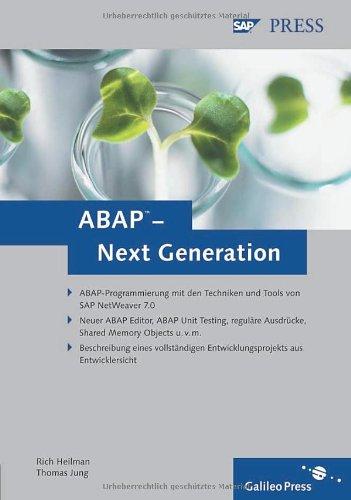 9783836210980: ABAP - Next Generation