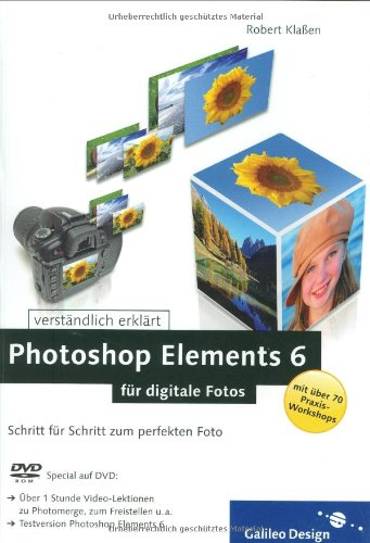 9783836211611: Photoshop Elements 6 f�r digitale Fotos