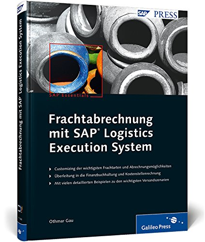 9783836211864: Frachtabrechnung mit SAP Logistics Execution System