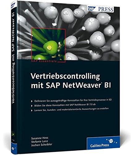 9783836211994: Vertriebscontrolling mit SAP NetWeaver BI