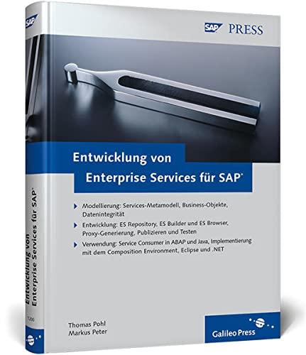 9783836212007: Entwicklung von Enterprise Services für SAP